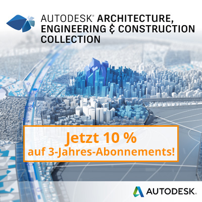 Architecture, Engineering & Construction Collection, Wechsel von AutoCAD